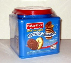 FISHER-PRICE Games MATCHIN' MIDDLES