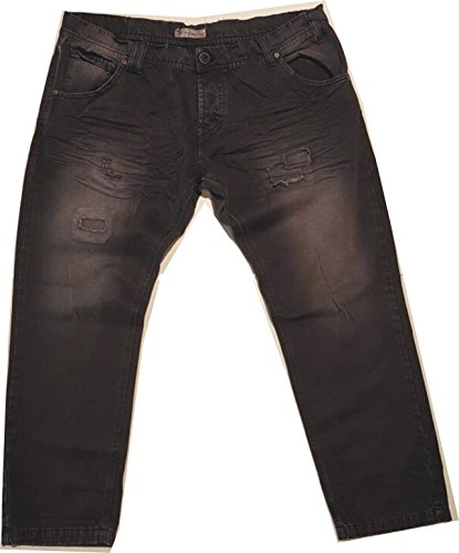 Jeans slavato balck(48)