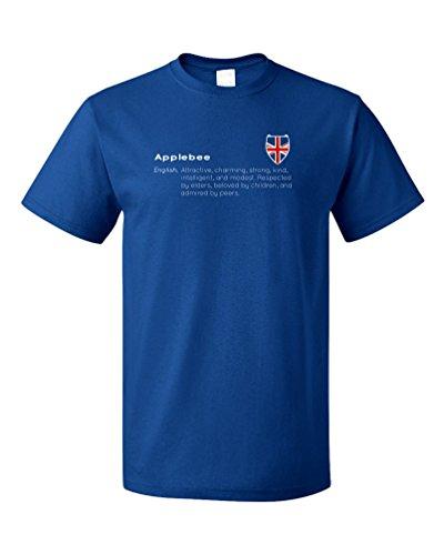 applebee-definition-funny-english-last-name-unisex-t-shirt-adultm