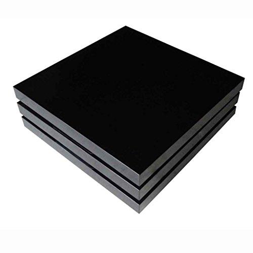 Anself-Couchtisch-Wohnzimmertisch-Tisch-mit-3-verstellbaren-Ablageflchen-Hochglanz-Schwarz-80-x-80-x-305-cm