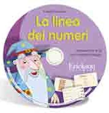 Cover La linea dei numeri. Aritmetica fino al 20 con il metodo analogico. CD-ROM