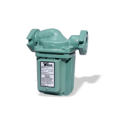 Taco 0011-F4 1/8-HP Cast Iron Cartridge Circulating Pump (Closed System Water Pump compare prices)