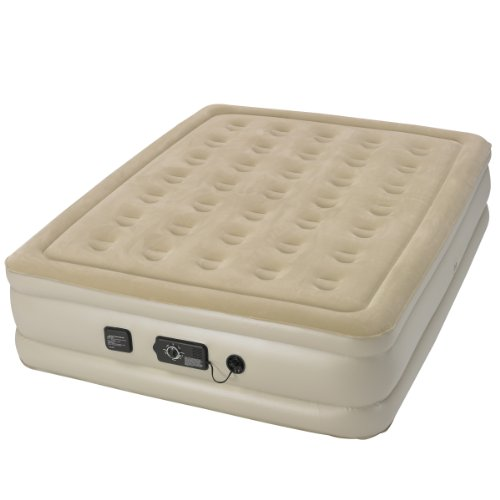 Serta Raised Queen Air Mattress with Never Flat Pump (Frame Air Mattress compare prices)