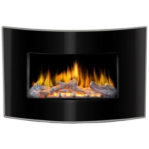 Lofty Bg03Cb Valencia Wall Mountable Electric Fireplace - Indoor Usage - Heating Capacity 1.50 Kw