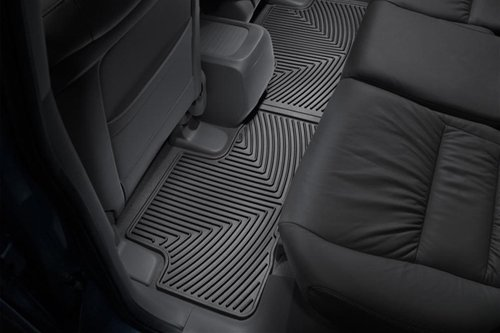 WeatherTech All-Weather Trim to Fit Rear Rubber Mats for Honda CR-V, Black