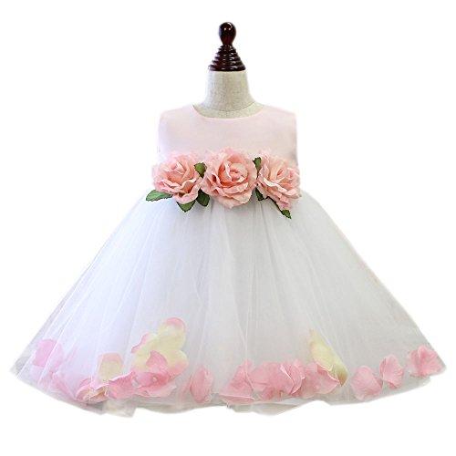 ベビードレス ベビーフローラSP 結婚式 セレモニー ドレス ベビー フォーマル 子供服 [リトルプリンセス] Little Princess