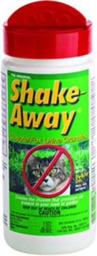 Shake Away 9002020 20-ounce Cat Repellent Coyote/Fox Urine