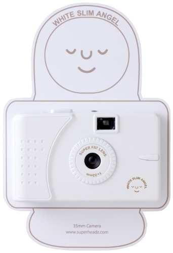 SuperHeadz: White Slim Angel (Wide Angle Lens) Camera [Toy]