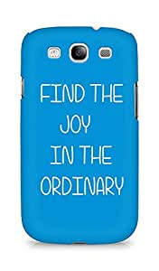AMEZ find the joy in the ordinary Back Cover For Samsung Galaxy S3 Neo