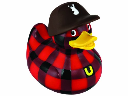 Bud Mini Rubber Duck Bath Tub Toy, Hunter