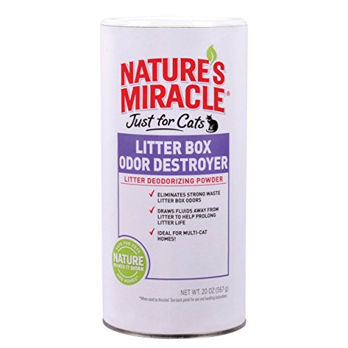 Nature S Miracle Just For Cats Litter Box Odor Destroyer Powder