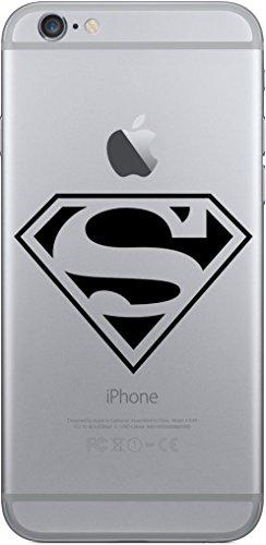 iPhone Cover di licaso® per il Apple iPhone 6 & 6S di TPU Silicone Superman Eroe Hero Modello molto sottile protegge il tuo iPhone 6 & 6S con stile Cover e Bumper (iPhone 6 6S, Superman)