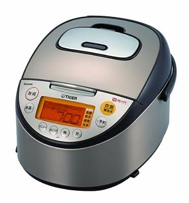 TIGER tacook タクック 同時調理 IH炊飯ジャー JKT-R100 5.5合 ブラウン JKT-R100-T