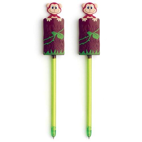 Xonex Tree Popper Pen, Black Ballpoint, 2 Count, 7 1/2-Inch (44569) (Popper Pens compare prices)