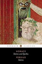 Satires and Epistles (Paperback)--by Horace…