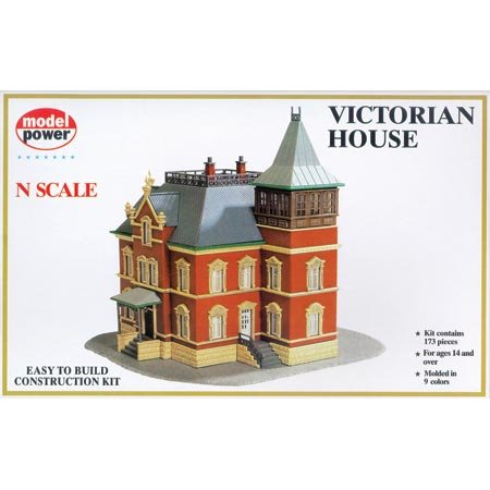 N KIT Victorian House - Buy N KIT Victorian House - Purchase N KIT Victorian House (Model Power, Toys & Games,Categories,Play Vehicles,Trains & Railway Sets)
