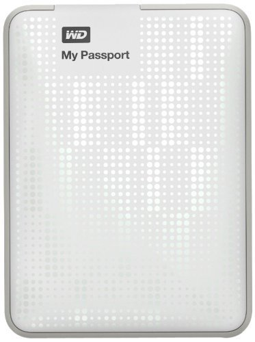 Shopping!: Western Digital My Passport- Disco duro externo, 500 GB, 2.5 pulgadas, con base EMEA, color blanco