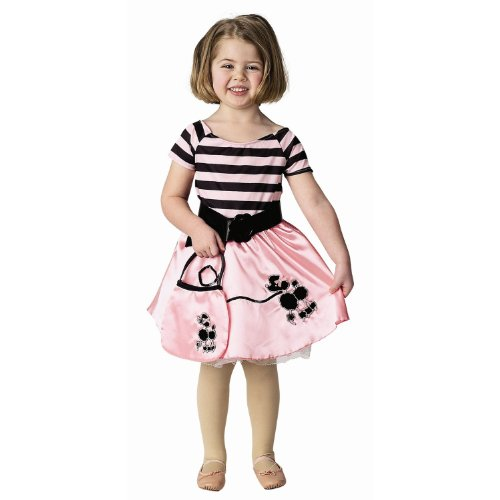 Poodle Dress Child Halloween Costume Size 6-8