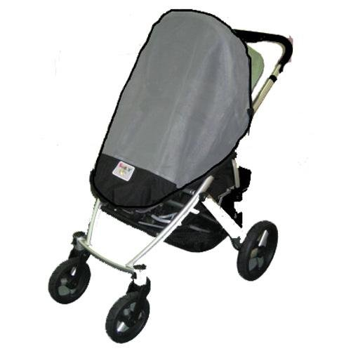 Sasha'S Baby Jogger City Series Double Sun, Wind & Insect Cover front-821931