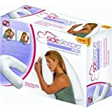 Side Sleeper ProTM Therapeutic Neck & Back Pillow