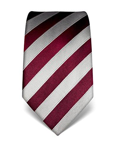 vb-mens-silk-tie-striped-many-colours-availableburgundy