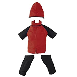 Casual Canine Poly-Filled Nylon Dog Snowsuit, XX-Large, Red