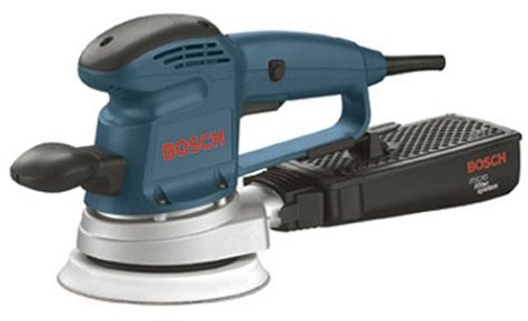 Bosch 3727DEVS 3.3 Amp 6-Inch Hook and Loop Random Orbit Variable Speed Sander/Polisher with Dust Canister