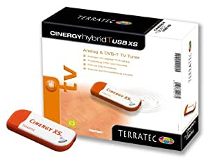 Terratec Cinergy Hybrid T USB XS DVB-T TV-Karte (Analog und DVB-T) als USB Stick