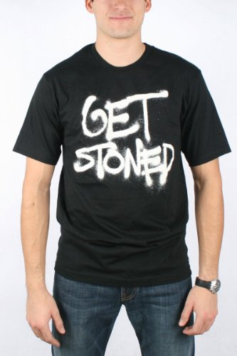 Volcom - Mens Get Stoned T-Shirt, Size: Large, Color: Black