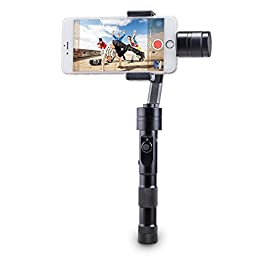 Zhiyun Z1-Smooth 3-Axis Handheld Stabilizing Gimbal for Smartphone iPhone Gopro 3/4,Samsung Galaxy Note 2 3 4,Samsung Galaxy S3 S4 S5 S6 S6 and other less than 7\