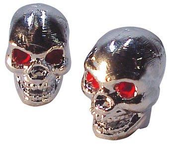 Trik Topz Boneless Skull Valve Caps pr. Chrome 123714