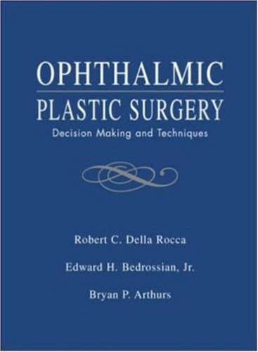 Ophthalmic Plastic Surgery: Decision Making And Techniques