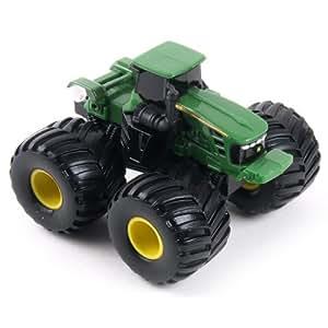 Ertl John Deere Toy Tractor, Green with Big Wheels