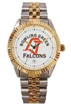 Bowling Green University Falcons Mens Executive Stainless Steel Watch
