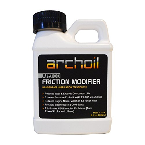 AR9100 (8 oz) Friction Modifier - Treats up to 8 quarts of engine oil