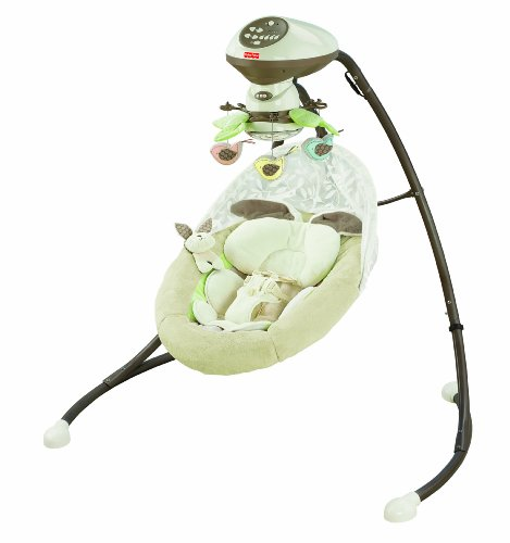 Fisher-Price Snugabunny Cradle 'N Swing with Smart Swing Technology (Fisher Little Lamb compare prices)
