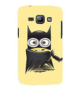 EPICCASE Superhero Minion Mobile Back Case Cover For Samsung Galaxy J1 (Designer Case)
