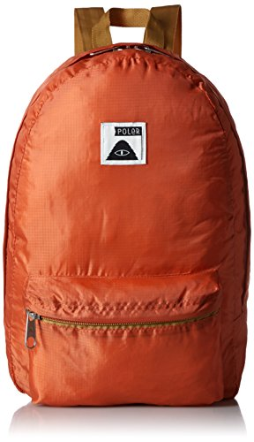 Poler Faltbarer Rucksack Bag Stuffable Pack, Burnt Orange, 50 x 40 x 6 cm, 14 Liter, POLBAG_STU