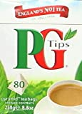 PG tips Black Tea, 80 Count Box 80pyramid tea bags(Pack of 12)