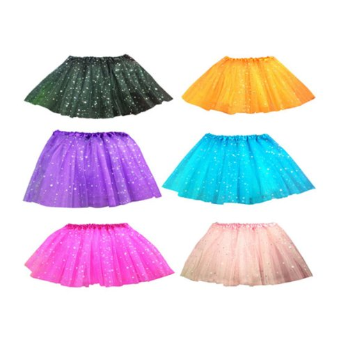 Buenos Ninos 2-8y Twinkling Star Tutu Skirt for Baby & Girls 6 Colors