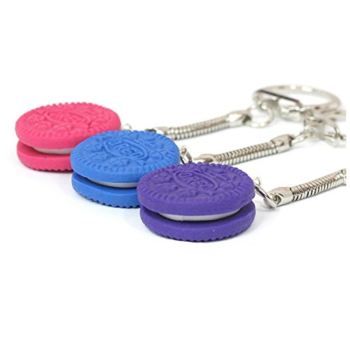 oreo-keyrings-coloured-polymer-clay-key-ring-ideal-gift-pink