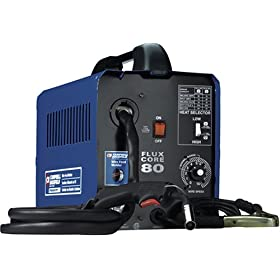 Factory-Reconditioned Campbell Hausfeld RBWF200000 115 Volt Wire Feed Welder (Flux Core Only)