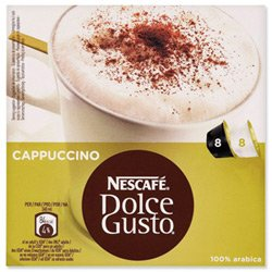 DOLCE GUSTO CAPPUCINO x 2 PACK (32 PODS, 16 SERVINGS)