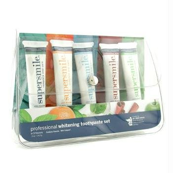 Professional Whitening Toothpaste Set: Cinnamon