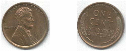 1916-D Lincoln Cent - 1
