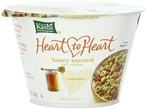Amazon.com: Kashi Heart to Heart Honey Toasted Oat Cereal