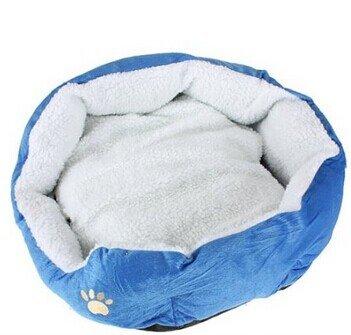 Pet Puppy Dog Cat Kitten Soft Warm Bed House Plush Nest Pad Mat