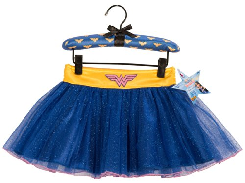 Wonder Woman Tutu Skirt With Puff Hanger - Small (4-6)
