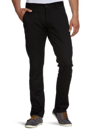 Selected Homme Three Store Chino NOOS T Relaxed Men's Trousers Black W32INxL34IN