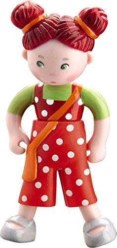 "HABA Little Friends Bendy Dollhouse Doll Felicitas 4"" Redhead"
